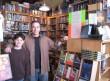 My fan Aaron and me at Watchung Booksellers, Montclair, NJ
